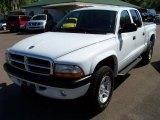2004 Bright White Dodge Dakota Sport Quad Cab 4x4 #32391773