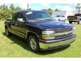 2002 Onyx Black Chevrolet Silverado 1500 LS Extended Cab #32391119