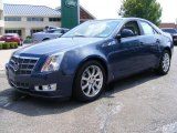 2009 Blue Diamond Tri-Coat Cadillac CTS 4 AWD Sedan #32391128
