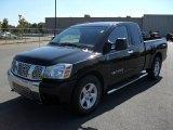 2007 Galaxy Black Nissan Titan SE King Cab #32392043