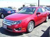 2010 Sangria Red Metallic Ford Fusion SEL #32391142