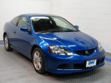 2005 Vivid Blue Pearl Acura RSX Sports Coupe #32391562