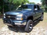2006 Blue Granite Metallic Chevrolet Silverado 1500 LT Crew Cab 4x4 #32391831