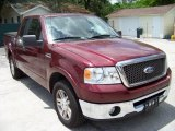 2006 Dark Toreador Red Metallic Ford F150 Lariat SuperCab #32391851