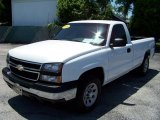 2006 Summit White Chevrolet Silverado 1500 LS Regular Cab 4x4 #32391868