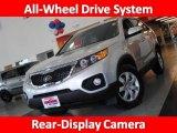 2011 Bright Silver Kia Sorento LX AWD #32391278