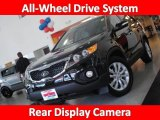 2011 Ebony Black Kia Sorento LX V6 AWD #32391279