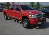 2006 Flame Red Dodge Ram 1500 Laramie Mega Cab 4x4 #32391674