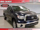 2010 Nautical Blue Metallic Toyota Tundra Double Cab #32392154