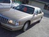 1997 Shale Beige Metallic Cadillac DeVille Sedan #32391691