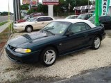Deep Forest Green Metallic Ford Mustang in 1994