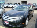 2010 Atlantis Green Metallic Ford Fusion SE #32466560
