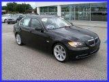 2008 Jet Black BMW 3 Series 335i Sedan #32466822