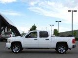 2009 Summit White Chevrolet Silverado 1500 LT Crew Cab 4x4 #32467114
