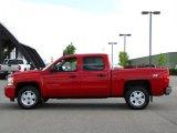2009 Victory Red Chevrolet Silverado 1500 LT Crew Cab 4x4 #32467115