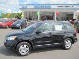 2010 Crystal Black Pearl Honda CR-V LX #32466926