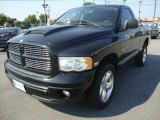 2004 Black Dodge Ram 1500 Rumble Bee Regular Cab 4x4 #32466685