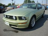 2006 Legend Lime Metallic Ford Mustang GT Premium Coupe #32466688