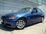 2007 Montego Blue Metallic BMW 3 Series 328xi Sedan #32466467