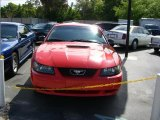 2001 Performance Red Ford Mustang V6 Coupe #32467192