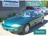 1998 Manta Green Metallic Chevrolet Cavalier Coupe #32466744