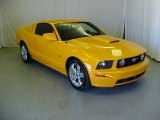 2007 Grabber Orange Ford Mustang GT Premium Coupe #32467054