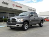 2008 Mineral Gray Metallic Dodge Ram 1500 ST Quad Cab #32466530