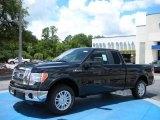2010 Tuxedo Black Ford F150 Lariat SuperCab #32466548