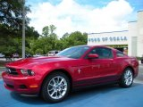 2011 Red Candy Metallic Ford Mustang V6 Premium Coupe #32466555