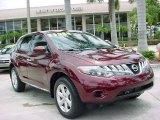 2009 Merlot Metallic Nissan Murano S #32534554