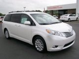 2011 Super White Toyota Sienna Limited #32535119