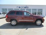 2008 Red Rock Crystal Pearl Jeep Grand Cherokee Limited 4x4 #32534842