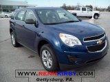 2010 Navy Blue Metallic Chevrolet Equinox LS #32535184