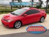 2007 Rallye Red Honda Civic Si Coupe #32535414