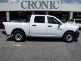 2010 Stone White Dodge Ram 1500 ST Crew Cab #32534948