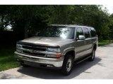 2001 Light Pewter Metallic Chevrolet Suburban 1500 LT 4x4 #32534966