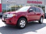2009 Sangria Red Metallic Ford Escape XLS #32535018