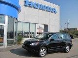 2009 Crystal Black Pearl Honda CR-V LX 4WD #32534791