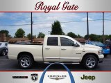 2008 Cool Vanilla White Dodge Ram 1500 Big Horn Edition Quad Cab #32603714
