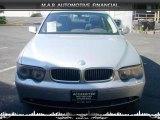 2003 Titanium Silver Metallic BMW 7 Series 745Li Sedan #32604429