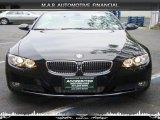 2007 Jet Black BMW 3 Series 335i Convertible #32604433