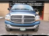 2006 Atlantic Blue Pearl Dodge Ram 1500 SLT Quad Cab 4x4 #32604468
