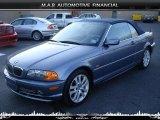 2002 Steel Blue Metallic BMW 3 Series 330i Convertible #32604719