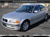 2001 Titanium Silver Metallic BMW 3 Series 325i Sedan #32604720