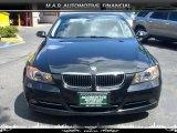 2007 Jet Black BMW 3 Series 335xi Sedan #32604480