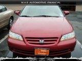 2002 Firepepper Red Pearl Honda Accord EX Sedan #32604295