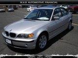 2004 Titanium Silver Metallic BMW 3 Series 325i Sedan #32604756