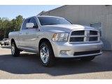 2010 Bright Silver Metallic Dodge Ram 1500 Sport Quad Cab #32603900