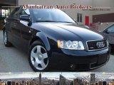 2004 Moro Blue Pearl Effect Audi A4 1.8T quattro Sedan #32604543