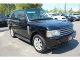 2007 Java Black Pearl Land Rover Range Rover HSE #32604030